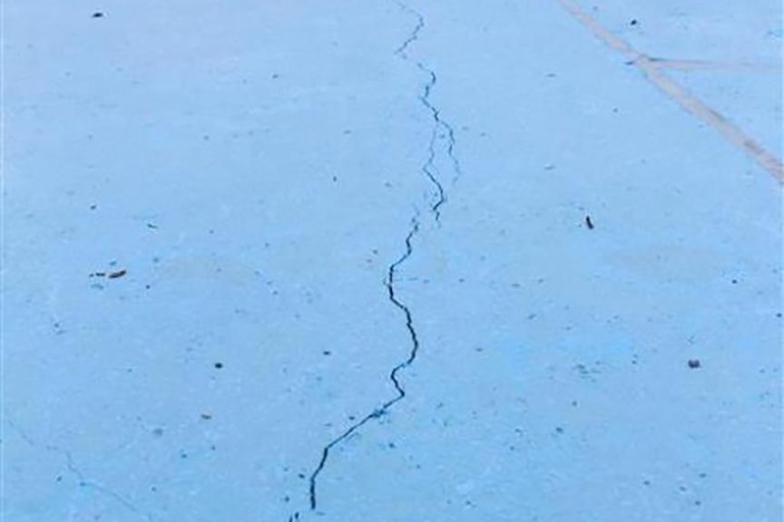 Gunite Pool Crack Repair - stop structural cracks
