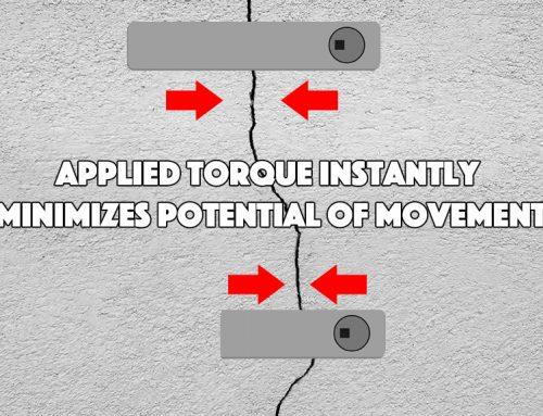 Fixing Cracks In A Cement Floor With Torque Lock