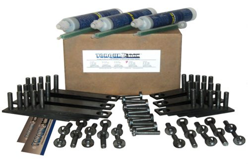 The TL-30 Torque Lock Staple Kit. Used for repairing up to 30 feet of structural cracking in concrete, gunite or solid cement structures. For pools, fountains, sea walls, foundations and more.