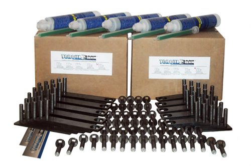 The TL-50 Torque Lock Staple Kit. Used for repairing up to 50 feet of structural cracking in concrete, gunite or solid cement structures. For pools, fountains, sea walls, foundations and more.