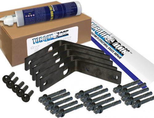 Repairing Corner Cracks With Torque Lock Staples